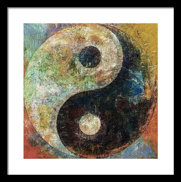 Michael Creese - Yin and Yang Print