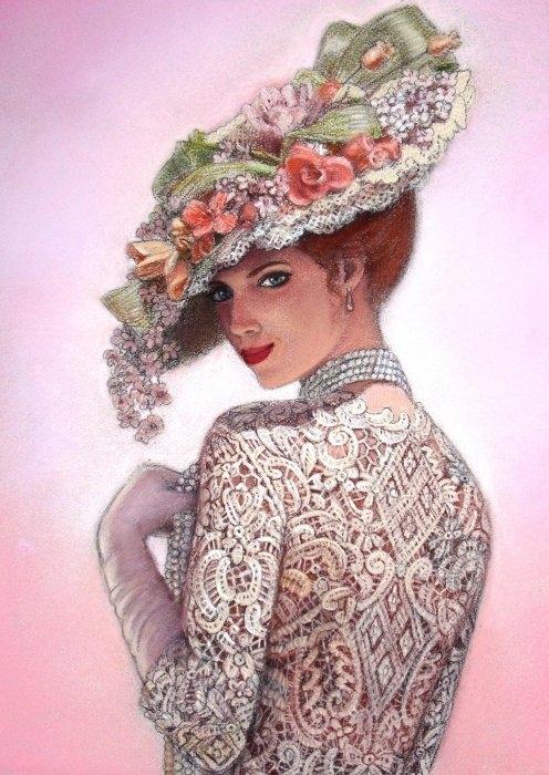 Sue Halstenberg - The Look of Love Print