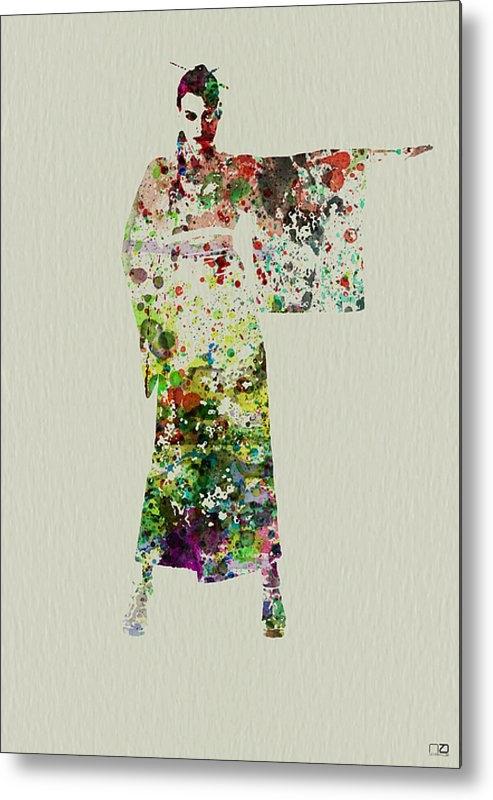 Naxart Studio - Woman in Kimono Print
