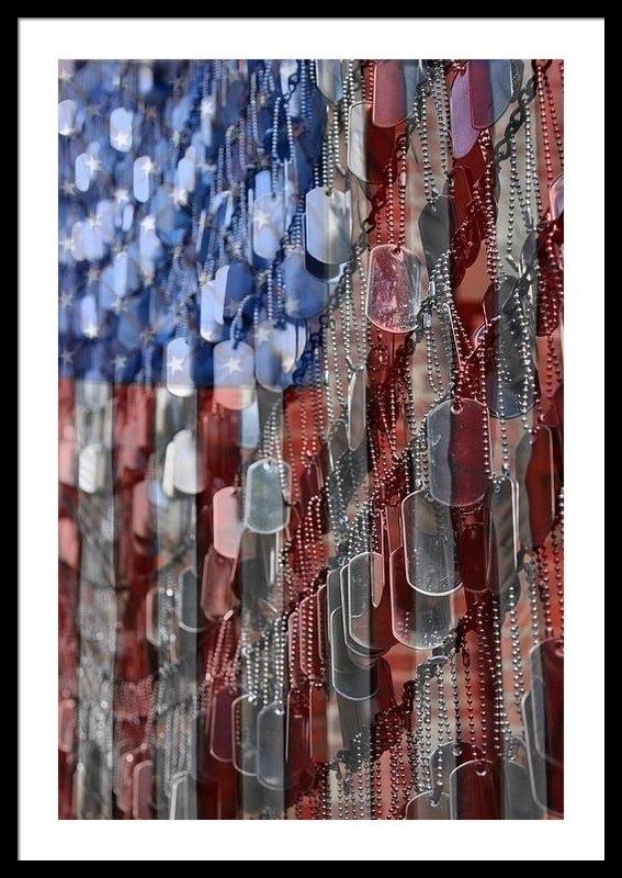 DJ Florek - American Sacrifice Print