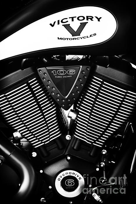 Tim Gainey - Victory Motorcycle Monoch... Print