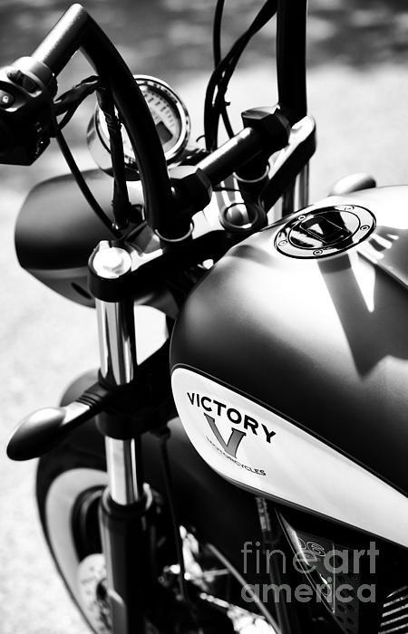 Tim Gainey - Victory Motorbike Print