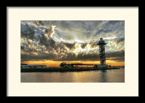 Brian Fisher - Tower Sunset Print