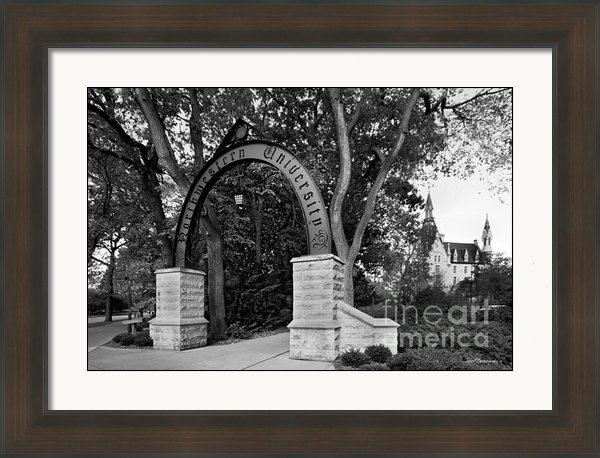 University Icons - Northwestern University T... Print