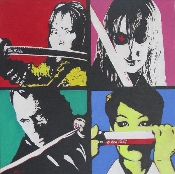 Martin Williams - Kill Bill  Print