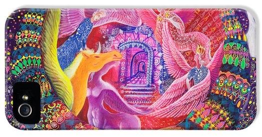 Pablo Amaringo - Unicornio Dorado Print