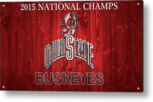Dan Sproul - Ohio State Buckeyes Natio... Print