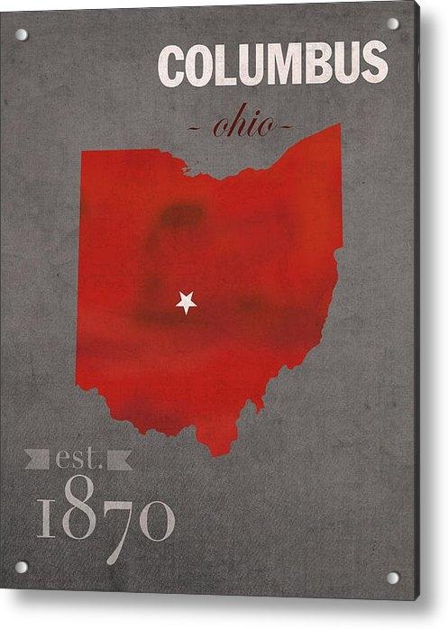 Design Turnpike - Ohio State University Buc... Print