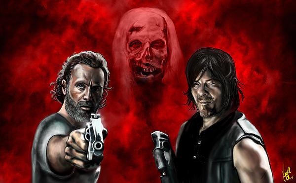 Vinny John Usuriello - The Walking Dead Print