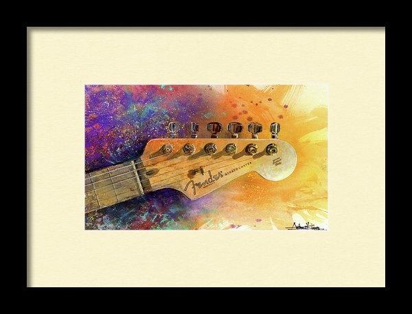 Andrew King - Fender Head Print