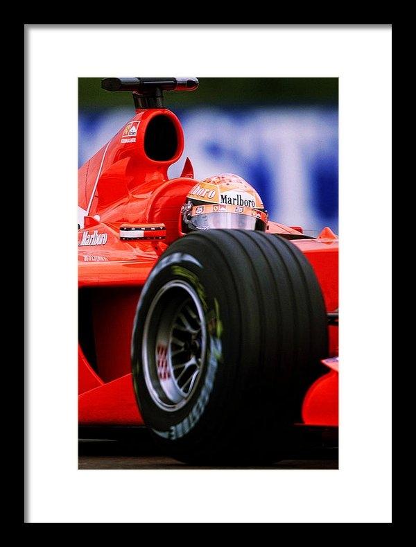 Srdjan Petrovic - Michael Schumacher Print