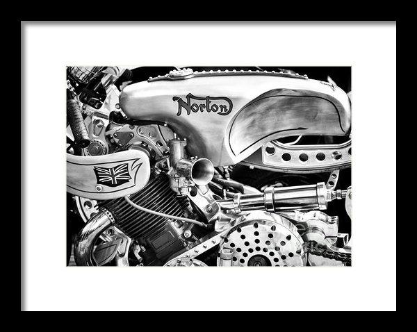 Tim Gainey - Norton Custom Cafe Racer ... Print