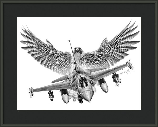 Dale Jackson - F-16 Fighting Falcon Print