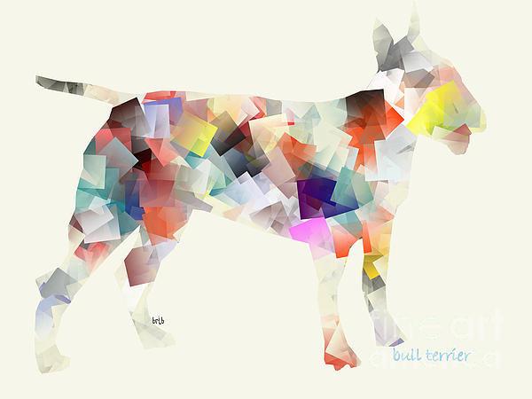 Bri Buckley  - Bull Terrier  Print