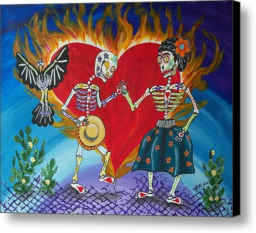 Julie Ellison - Burning Love Frida and Di... Print