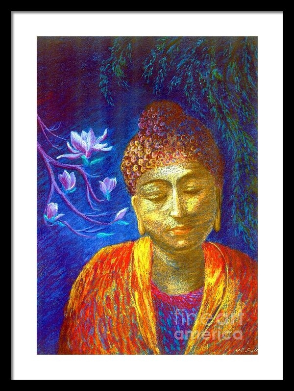 Jane Small - Meeting with Buddha Print