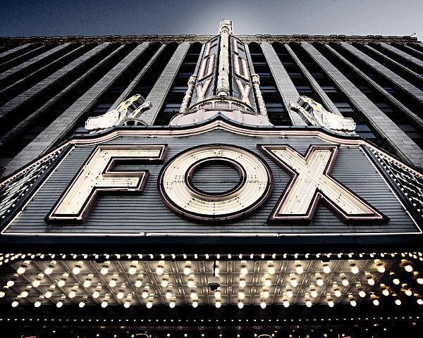Alanna Pfeffer - Detroit Fox Theatre Print