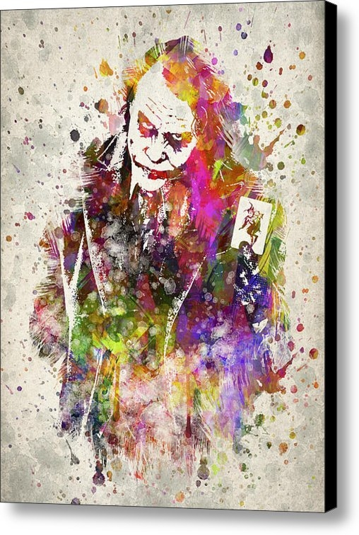 Aged Pixel - The Joker Print