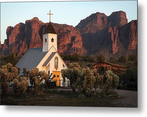Dave Dilli - Church at the Superstitio... Print