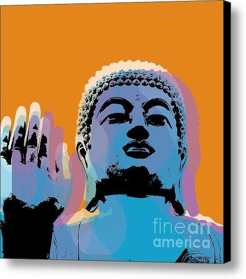 Jean luc Comperat - Buddha Pop Art - Warhol s... Print