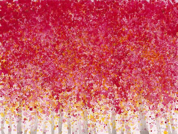 Jerome Lawrence - Trees at Twilight XIV Print