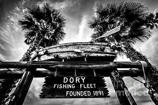 Paul Velgos - Dory Fishing Fleet Sign P... Print