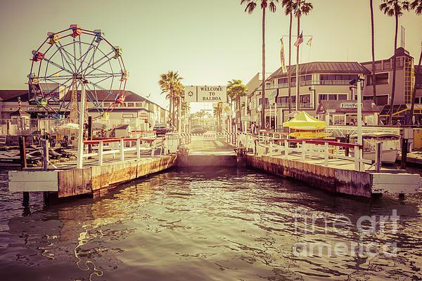 Paul Velgos - Newport Beach Balboa Isla... Print