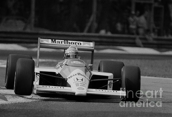 Oleg Konin - Ayrton Senna. 1988 Italia... Print