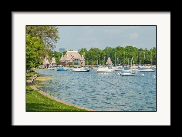 Near and Far Photography - Boats of Lake Harriet Print