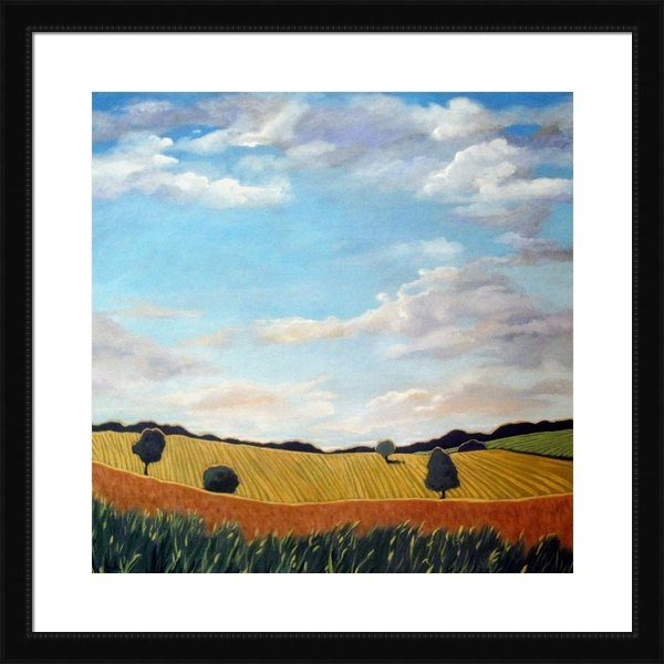 Linda Apple - Corn and Wheat - landscap... Print