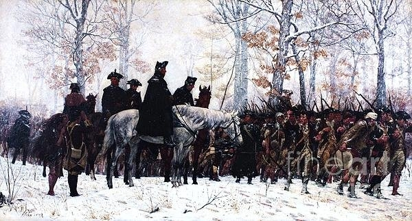 Pg Reproductions - March to Valley Forge  Print