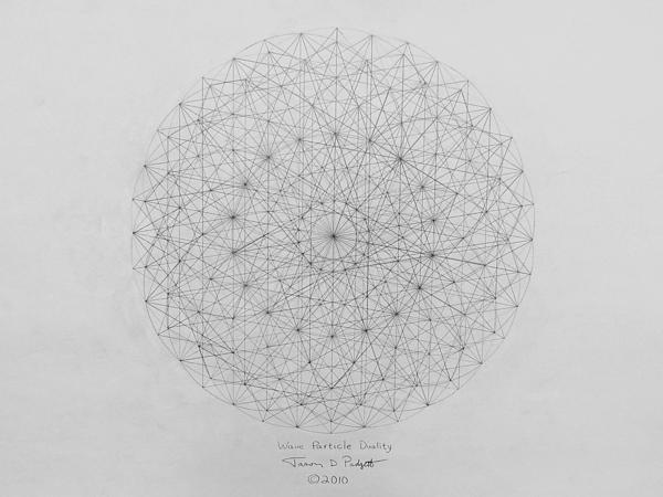 Jason Padgett - Wave Particle Duality Ori... Print