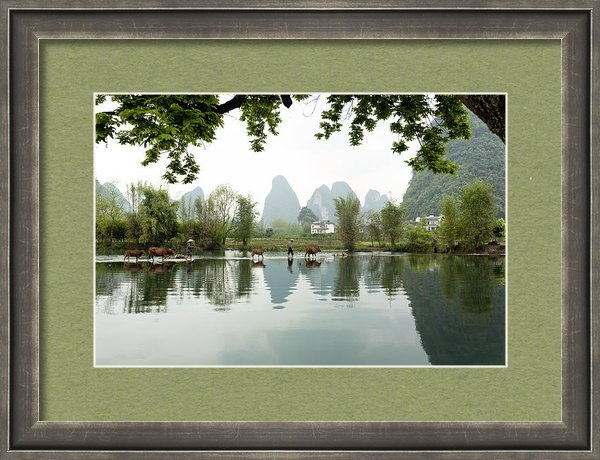 King Wu - Country side in Southern ... Print