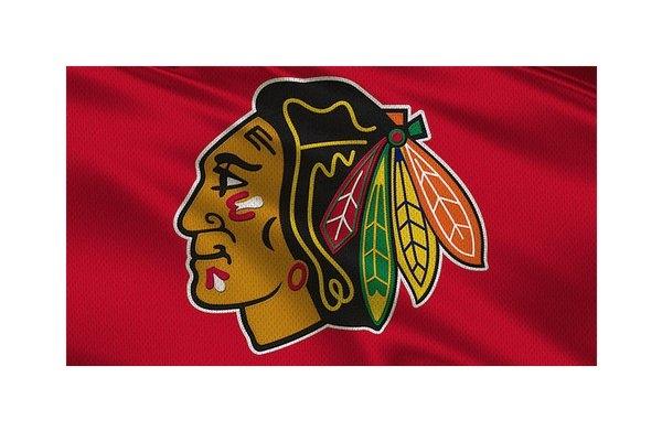 Joe Hamilton - Chicago Blackhawks Unifor... Print