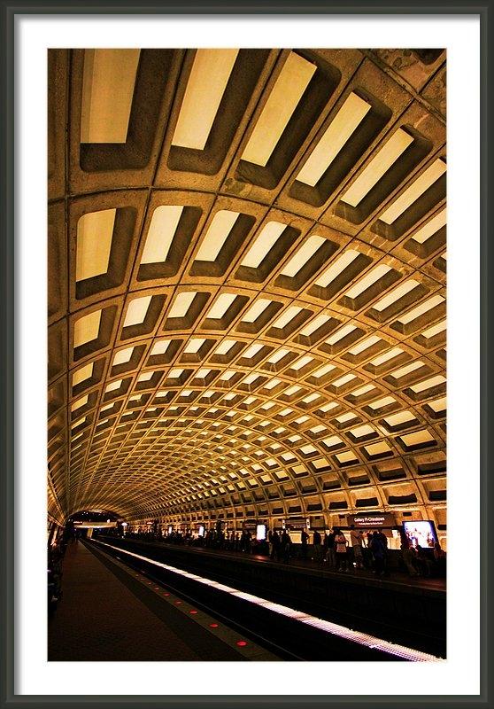 Mitch Cat - Metro Station Print