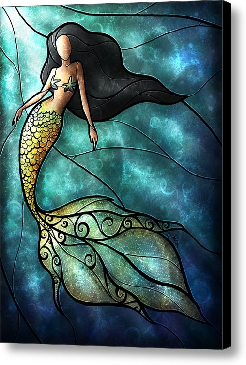 Mandie Manzano - The Mermaid Print