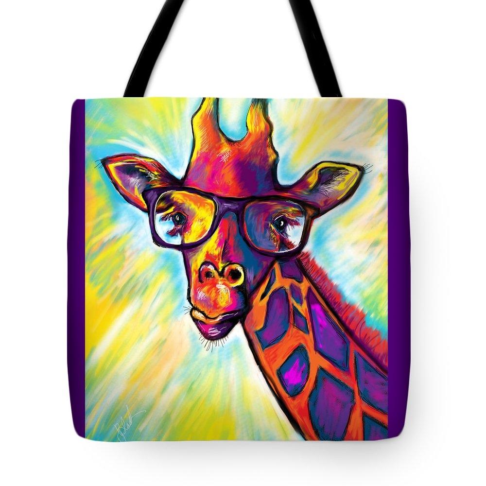 Julianne Black - Giraffe Print