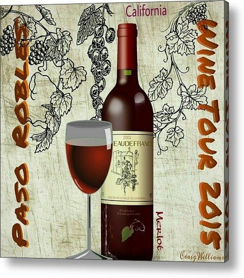 Craig Williams - Wine Tour  Print
