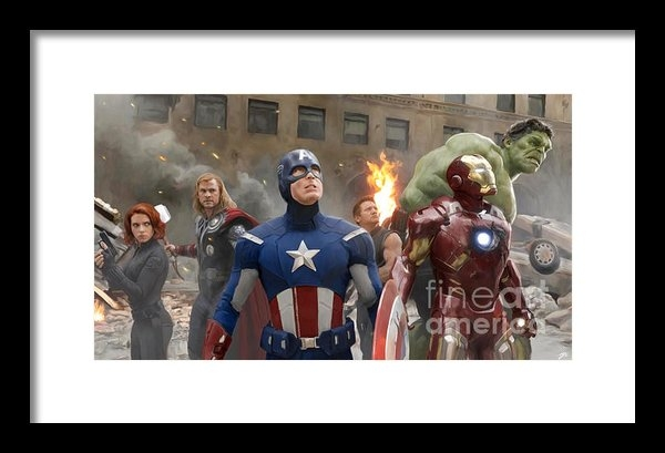 Paul Tagliamonte - The Avengers Print