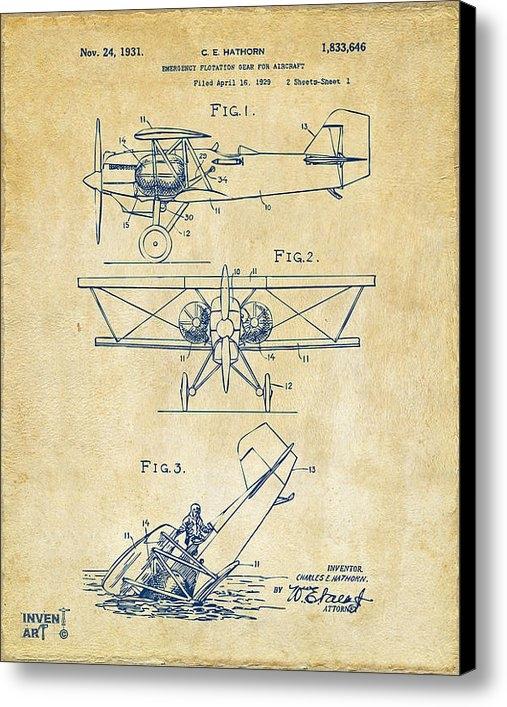 Nikki Marie Smith - 1931 Aircraft Emergency F... Print