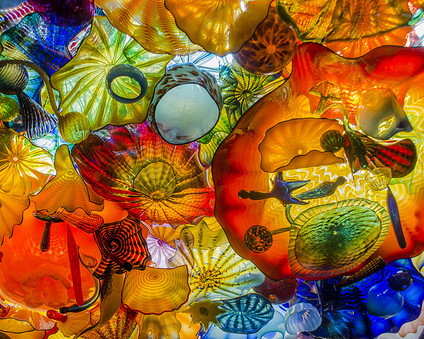 Cara Purdy - Chihuly Gass Print