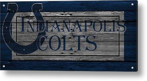 Joe Hamilton - Indianapolis Colts Print