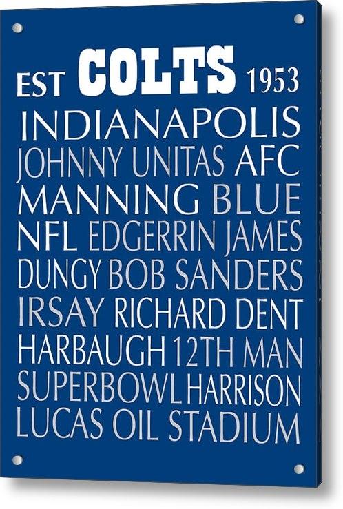 Jaime Friedman - Indianapolis Colts Print