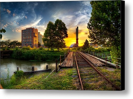 Micah Goff - Sunset at The Imperial Su... Print