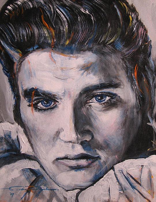 Eric Dee - Elvis 2 Print