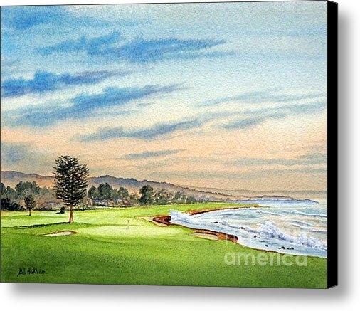 Bill Holkham - Pebble Beach Golf Course ... Print