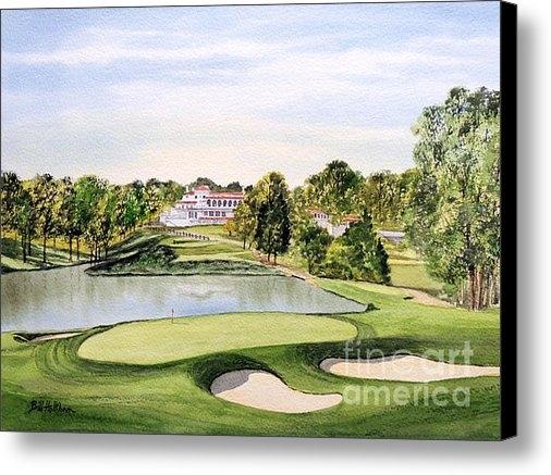 Bill Holkham - Congressional Golf Course... Print