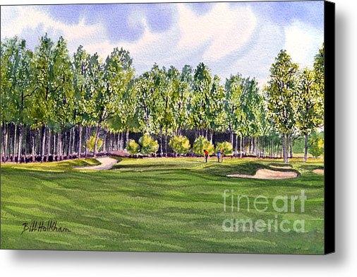 Bill Holkham - Pinehurst Golf Course 17T... Print