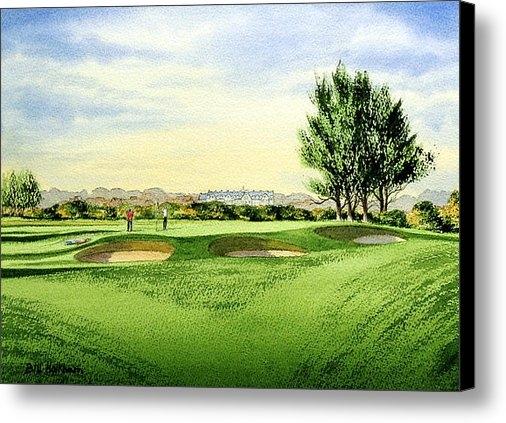Bill Holkham - Carnoustie Golf Course 13... Print