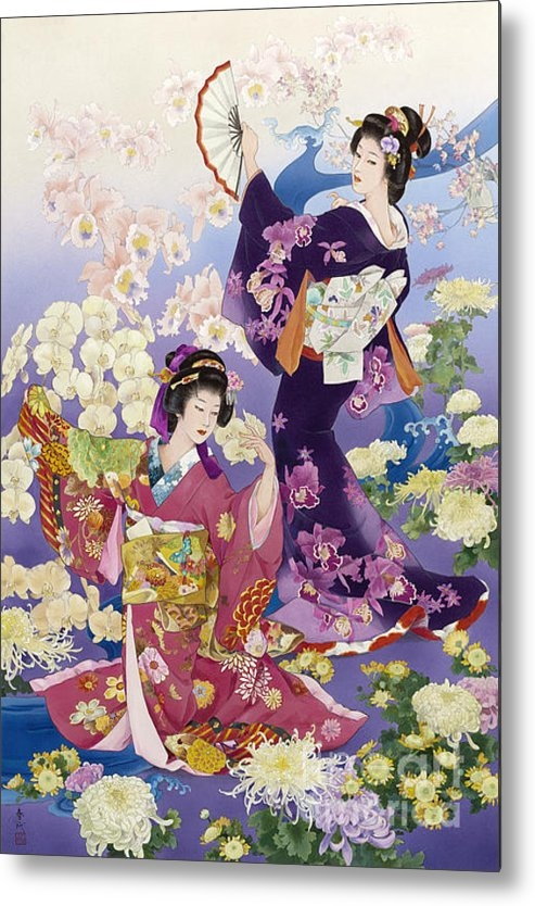 Haruyo Morita - Ran Kiku Print